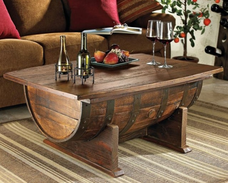oak-barrel-coffee-table
