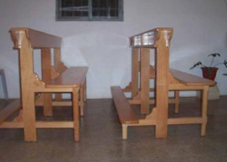 church-benches