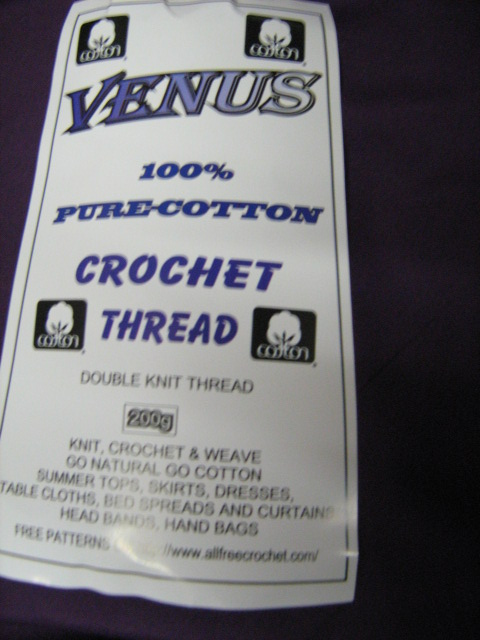 venus-100-pure-cotton-double-knit-crochet-thread-200g