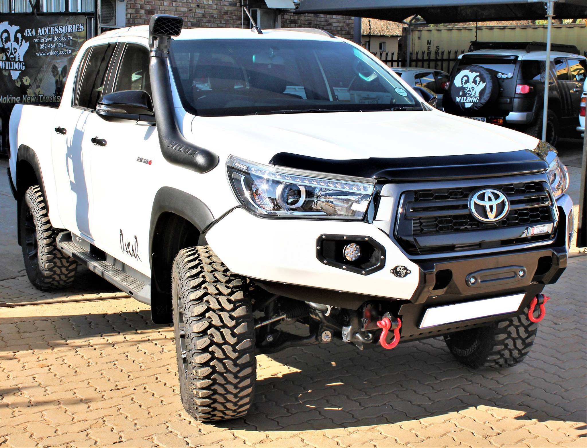 Wildog 4x4 Accessories Front Rear Replacement Bumpers Custom Design Pretoria Gauteng