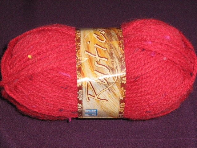 elle-rustica-chunky-50g-col-169-cherry